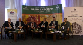 Panel discussion about agribusiness in Serbia